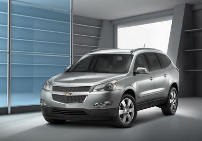 Chevrolet presenta la Traverse en Chicago