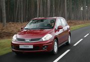 """Nissan Tiida: """"Auto más seguro 2007"""""""