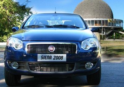 El Nuevo Fiat Siena 2008, a la venta en el país