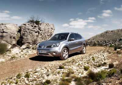 Renault Koleos: expresivo y seductor