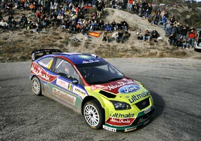 Ford en busca del triunfo en el Rally México