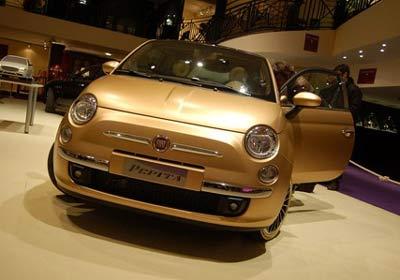 "Fiat 500: ""Pepita"" de oro"