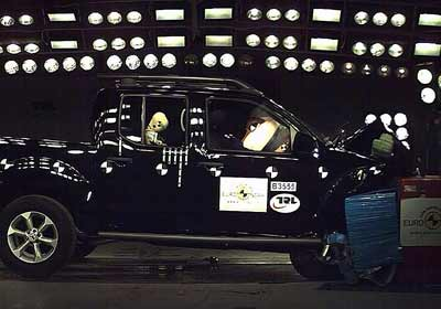 EuroNCAP: pobre performance de las pick-up