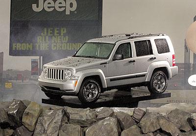 Jeep Cherokee 2008: ¡Debutó en Chile!