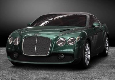 Zagato Bentley GTZ 2008: con aire neoclásico