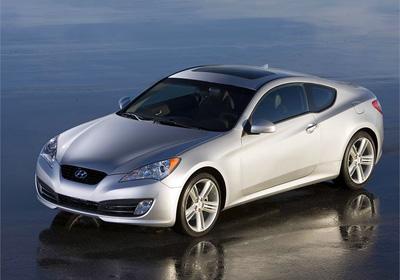 Hyundai Genesis Coupé: ¡Fotografías exclusivas!