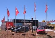 Mitsubishi Motors se presentó en Expoagro
