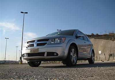 Dodge Journey R-T 2009, a prueba