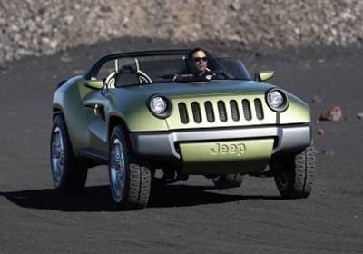 Jeep Renagade Concept: un puro todoterreno