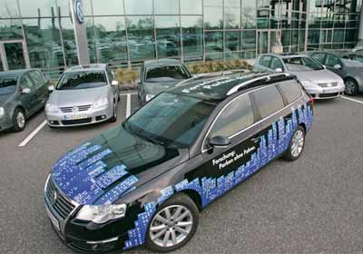 Volkswagen: nuevo sistema Park Assist Vision