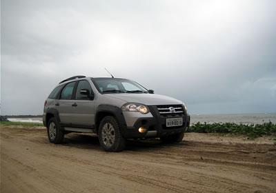 Nueva Fiat Palio Adventure 2009, primer contacto