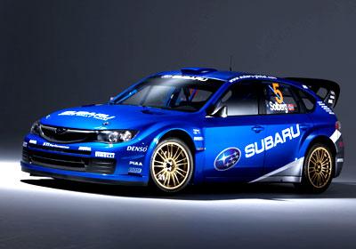 Nuevo Subaru Impreza WRC2008
