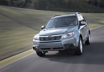 Subaru Forester 2009 con 5 estrellas de seguridad
