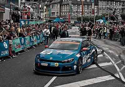 24 Horas de Nürburgring 2008: Volaron los Scirocco GT24