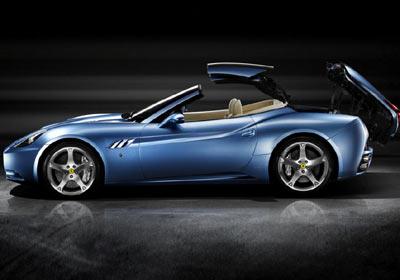 Ferrari California coupé: lo último en moda italiana