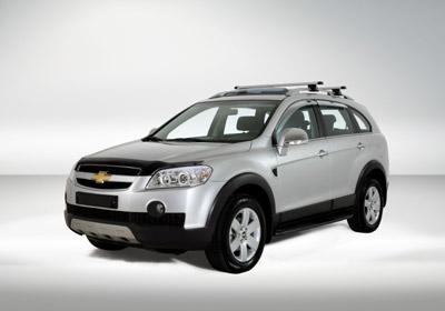 Nueva Chevrolet Captiva: un SUV para lucirse