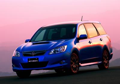Exiga, el nuevo Subaru de siete pasajeros