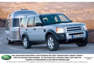 Land Rover DISCOVERY 3: ¡El Mejor coche con remolque!