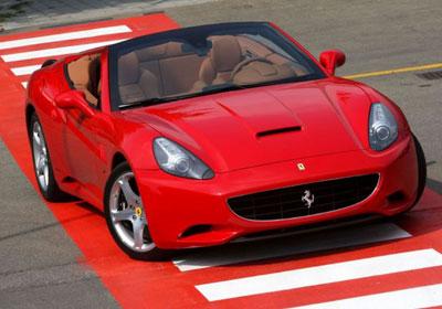 Ferrari California: imágenes inéditas