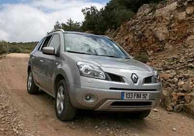 Renault Koleos: fotografías exclusivas