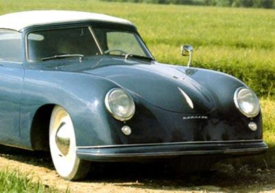 Porsche Type 356-001 en Pebble Beach