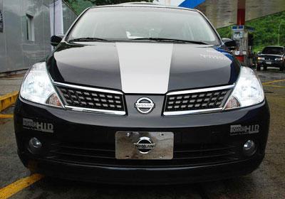 Nissan TIIDA : ¡Al mejor estilo tuning!