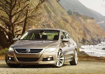 VW Passat CC Gold Coast: imagen notable