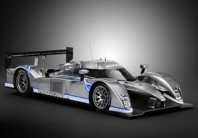 Peugeot 908 HY 2008: superfavorito