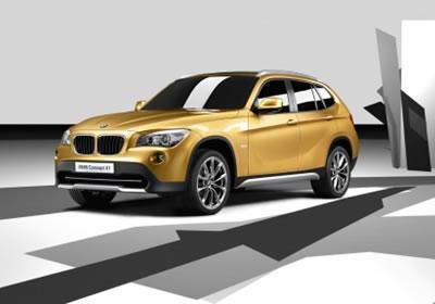 Estrena BMW su X1 Concept en París