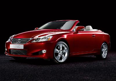 Lexus IS 250C: una coupé cabrio bárbara