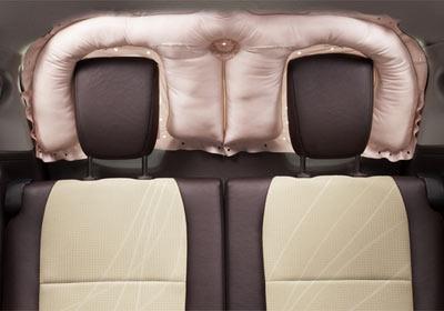 Airbag para la luneta trasera
