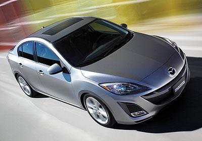 Mazda3 2009: ¡Primeras fotografías oficiales!
