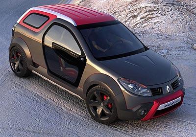 Renault Sand´up Concept: ¡Sandero Transformer!