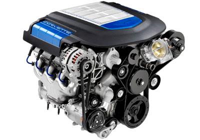 Motor Corvette ZR1 al menudeo