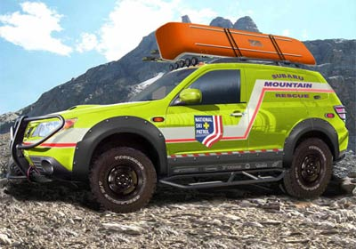 Tuning, Subaru Forester Mountain Rescue Concept