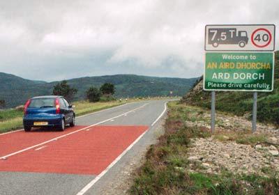 Los europeos y las señales de tránsito