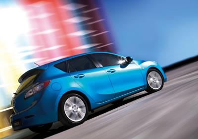Primeras imágenes del Mazda 3 hatchback 2010