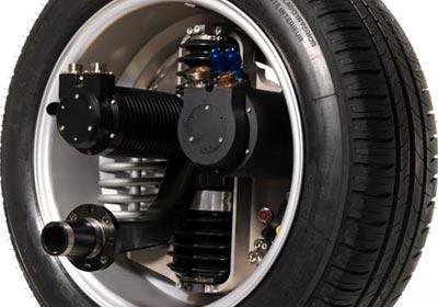 Michelin continúa con el desarrollo de las ruedas con motor integrado.