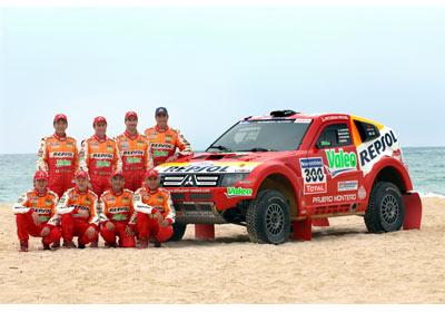 Mitsubishi Ralliart: listo para el Rally Dakar 2009
