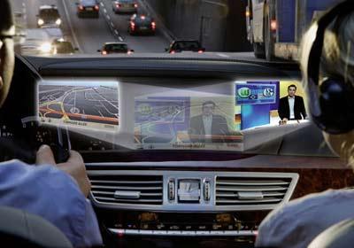 Mercedes Clase S: traerá tecnología multimedia Splitview