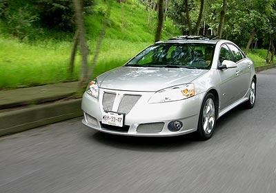 Pontiac GXP 2009 a prueba