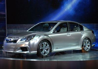 Subaru Legacy Concept: señores, nació el Legacy 2010