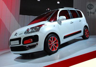 Citroën C3 Picasso: ¡Exclusivo: Primeras fotografías reales!
