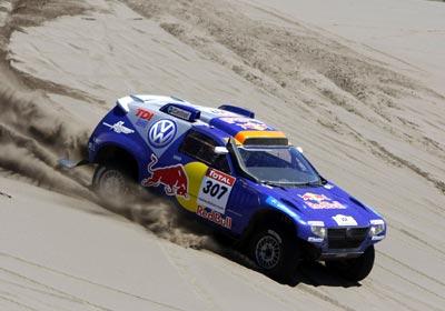 Volkswagen gana el Dakar con el Race Touareg.