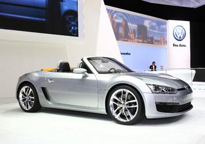 Volkswagen BlueSport Concept: ¡Anticipos de su nuevo descapotable!