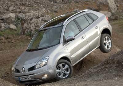 Renault Koleos: Fuerte personalidad