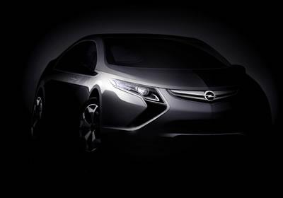 Opel Ampera: así sería el Volt europeo