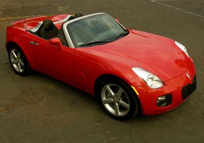 Pontiac Solstice GXP 2009 a prueba