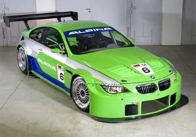 Alpina B6 GT3: de regreso a las pistas