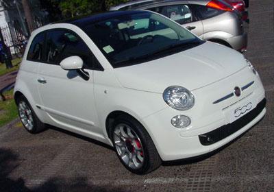 Fiat 500 2009 en Chile: Sólo se venderán 20 unidades